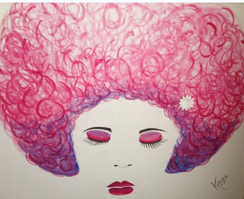 Pink fro