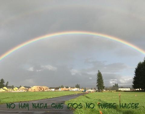 Double Rainbow in the Northwest
