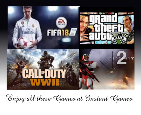 New games at Instant Gaming