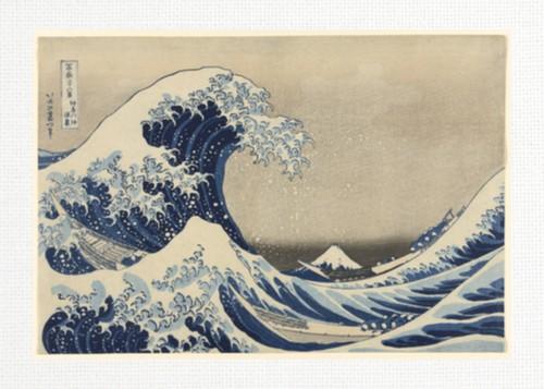 The Great Wave by Katsushika Hokusa