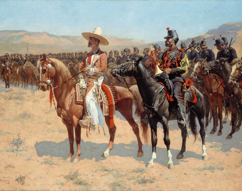 The Mexican Major – 1889 by Frederi