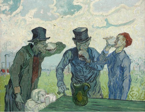 The Drinkers by Vincent van Gogh.
