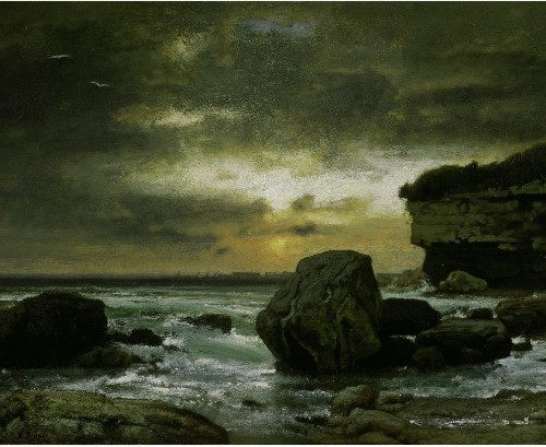 A Marine by George Inness