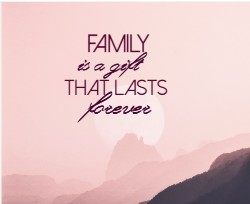 Family canvas Image