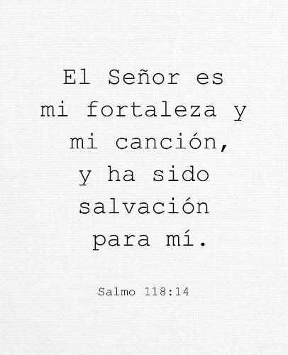 Salmo 118:14