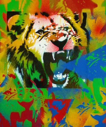 lion popart