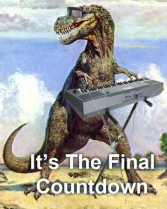 Dinosaur Final Countdown