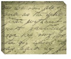 Handwritten Poem Image