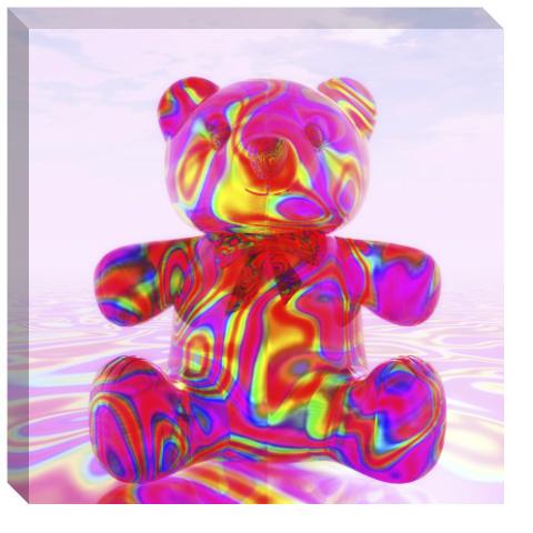 Pink Beary Bear