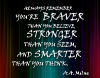 A.A. Milne Quote Image
