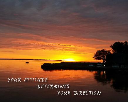 Your Attitude Determines Your Direc