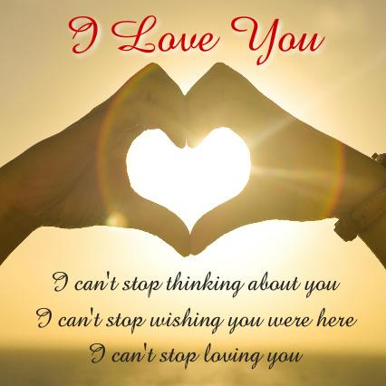 I Love You Poem