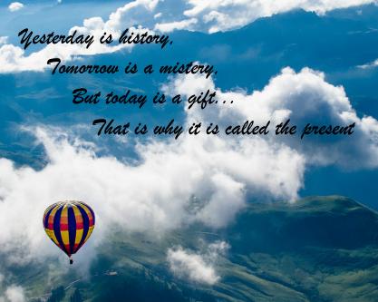 hot air balloon inspirational canva