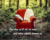 inspirational chair canvas Image
