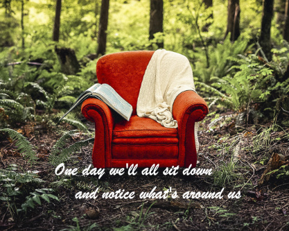 inspirational chair canvas