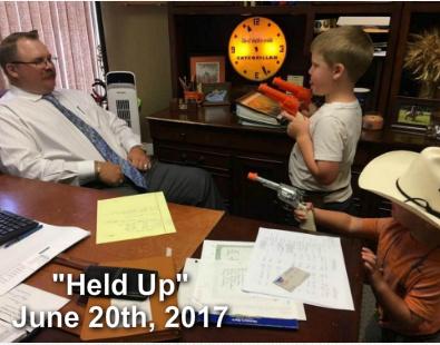 """Held Up"""
