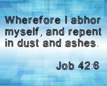 Job 42:6