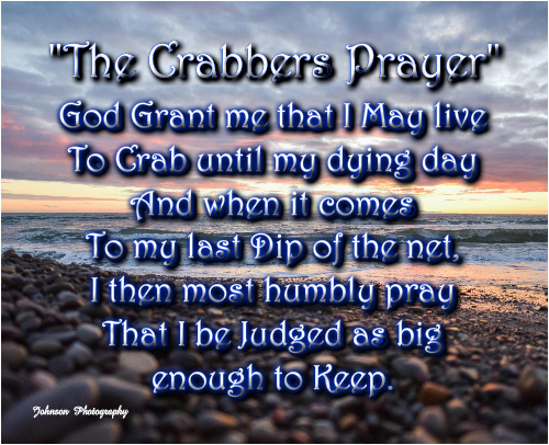 The Crabbers Prayer